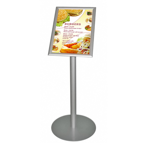 Lectern style A3 menu stand