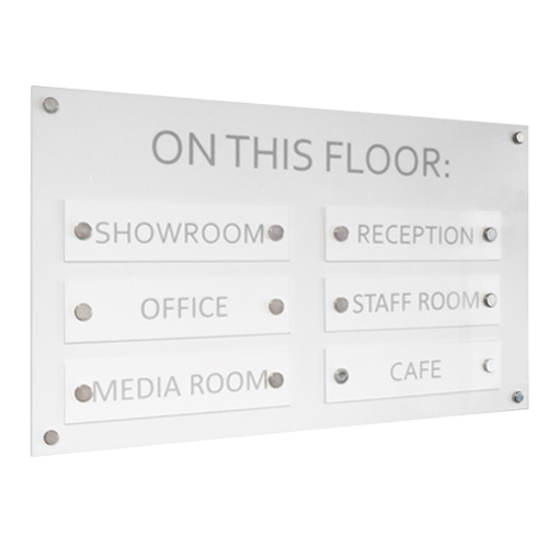 SW5: Wall mount directories on panels