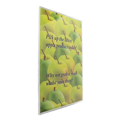PM6B: Self adhesive poster holders - 'U' profile