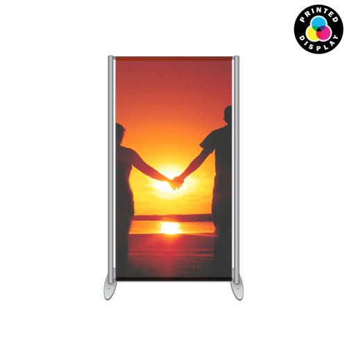 SF1: Banner stands - frames with printed banners