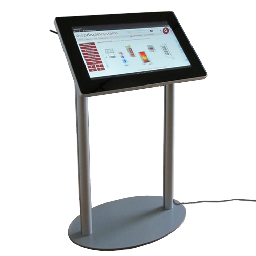 MF10: PCAP touch screen on lectern (podium) stand