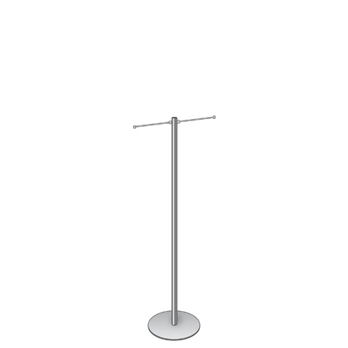 4 foot carrier bag stand with 2 arms