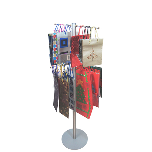 1.2 carrier bag stand with 4 hangers